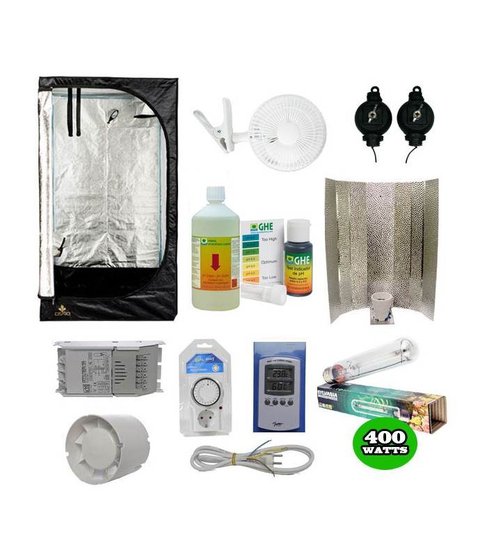 Pack basic tente eclairage pack complet chambre de culture - Pack complet chambre de culture ...