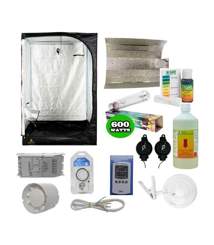 Packs complet chambre de culture eclairage pack complet - Kit chambre de culture complet ...