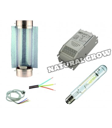 PACK COMPLET 250 WATTS MH REFLECTEUR COOL TUBE