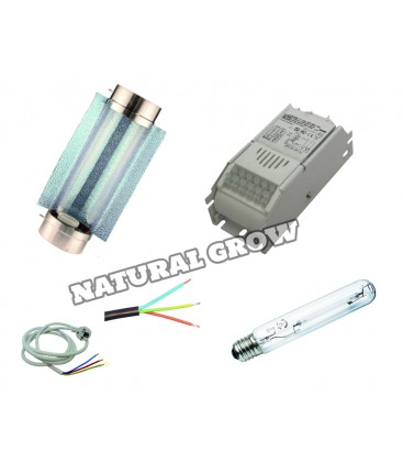 PACK COMPLET 250 WATTS HPS REFLECTEUR COOL TUBE