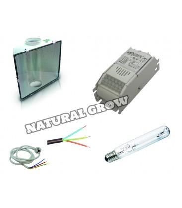 PACK COMPLET 250 WATTS HPS REFLECTEUR SPUDNIK