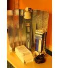 KIT 400 WATTS AVEC 2 AMPOULES MH ET HPS REFLECTEUR SIMPLE