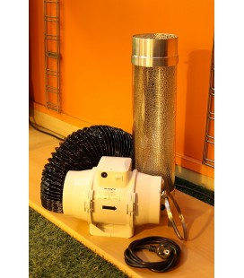 PACK COOL TUBE + EXTRACTEUR TT 280 M3/H DIAMETRE 125 MM
