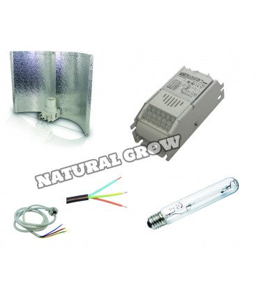 PACK COMPLET 250 WATTS HPS REFLECTEUR ADJUST A WING