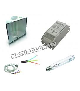 PACK COMPLET 250 WATT HPS REFLECTEUR SPUDNIK