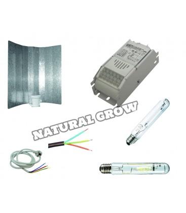 PACK COMPLET 250 WATT MH ET HPS REFLECTEUR BASIC
