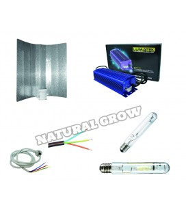 PACK COMPLET LUMATEK 250 WATT MH ET HPS REFLECTEUR SIMPLE