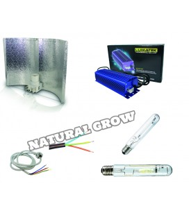 PACK COMPLET 250 WATTS MH ET HPS REFLECTEUR ADJUST A WING