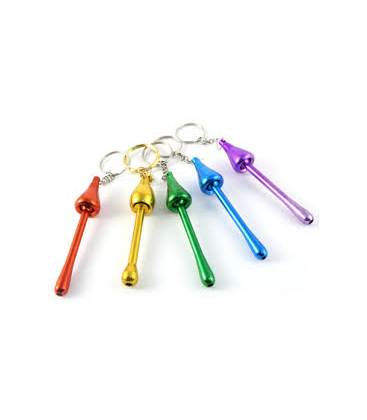 PIPE PORTE CLEF COULEUR OR