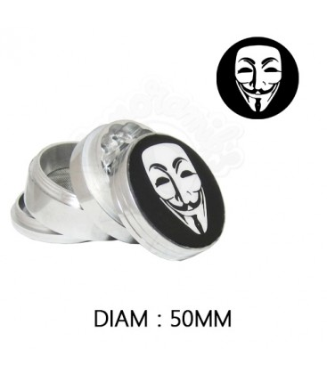 GRINDER ALU ANONYMOUS 50 mm
