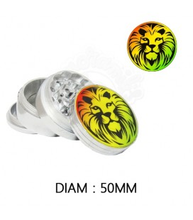 GRINDER ALU RASTA LION 50 mm