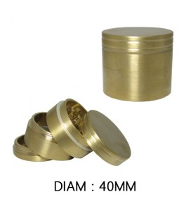 GRINDER ALU GOLD 50 mm
