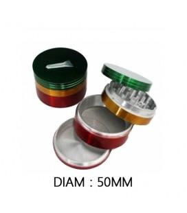 GRINDER ALU RASTA 50 mm