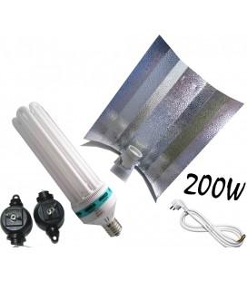 PACK COMPLET CFL 200 WATTS FLORAISON
