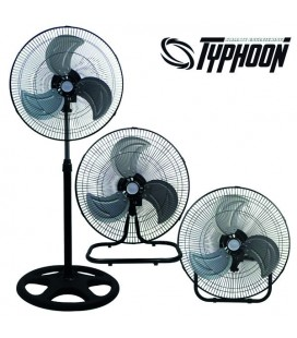 VENTILATEUR INDUSTRIEL 3 EN 1 ( 45 CM ) TYPHOON PURE FACTORY