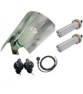PACK COMPLET CFL 200 W CROISSANCE ET FLORAISON