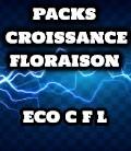 PACK AVEC 2 AMPOULES CFL CROISSANCE ET FLORAISON