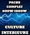 PACK COMPLET 600 ET 1000 WATTS DE 4 A 8 PLANTES